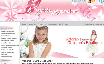 Girls Dress line::Please click the image to view a project overview of Girls Dress line.